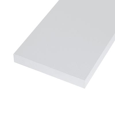 Ripiano melaminico ARTENS 100 x 60 cm Sp 25 mm , bianco