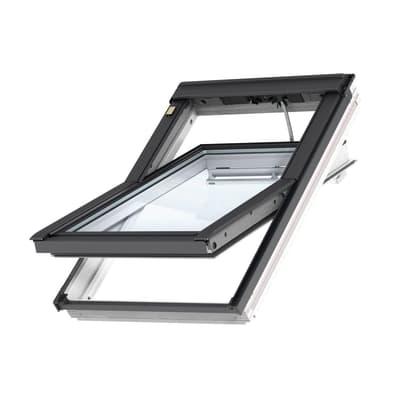 Finestra da tetto (faccia inclinata) VELUX GGL UK04 206821 elettrico L 134 x H 98 cm bianco