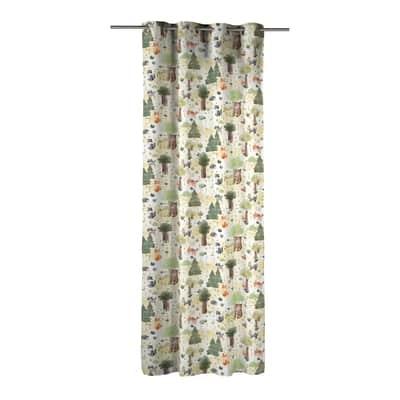 Tenda INSPIRE Wiskers multicolor occhielli 140 x 280 cm