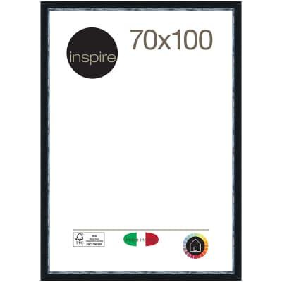 Cornice Maussane nero per foto da 70 x 100 cm