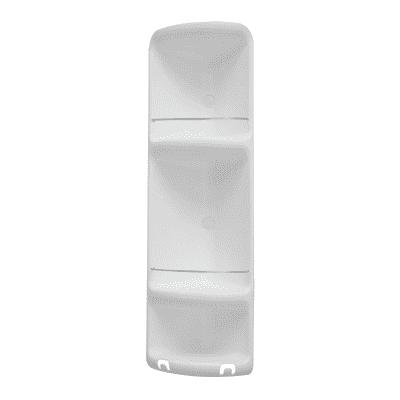 Mensola per bagno Caesar L 22.6 cm bianco