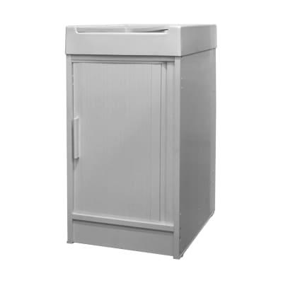 Mobile lavanderia Ice bianco L 44.2 x P 52.5 x H 84 cm