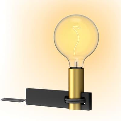 Lampada da tavolo Glamour Rodi oro, in metallo