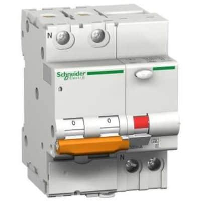 Interruttore magnetotermico differenziale SCHNEIDER SNRDOMC45C630C 2 poli 63A