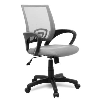 Sedia da ufficio con braccioli Business grigio