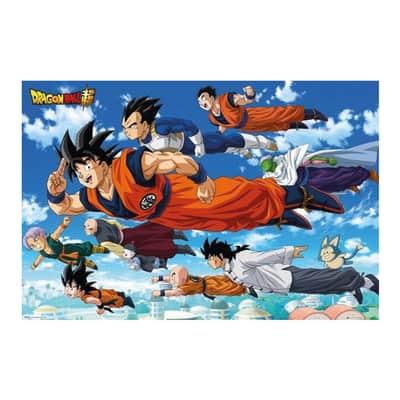 Poster Poster 61x91,5 Dragon Ball Super Flying 61x91.5 cm