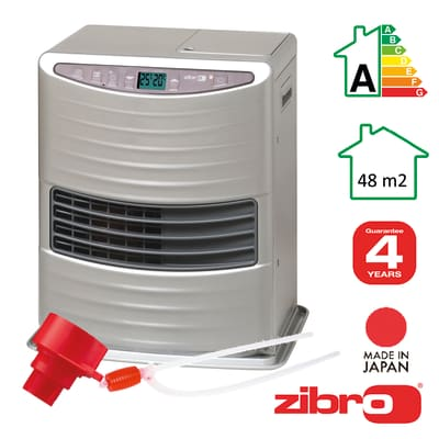 Stufa a petrolio ZIBRO LC30T elettronico 3 kW grigio / argento