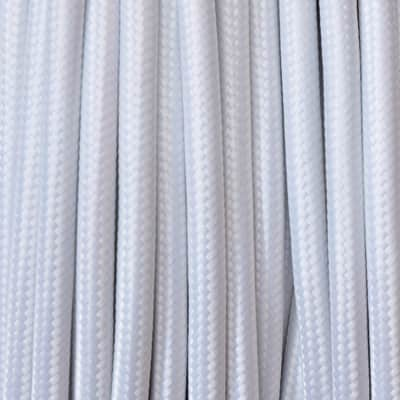 Cavo tessile MERLOTTI 2 fili x 0,75 mm² bianco 3 metri