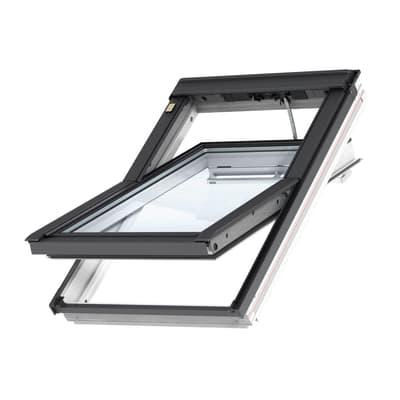 Finestra da tetto (faccia inclinata) VELUX GGL BK04 207021 elettrico L 47 x H 98 cm bianco