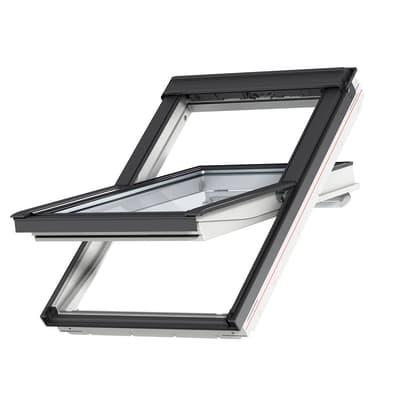 Finestra da tetto (faccia inclinata) VELUX GGU FK06 0086 manuale L 66 x H 118 cm bianco