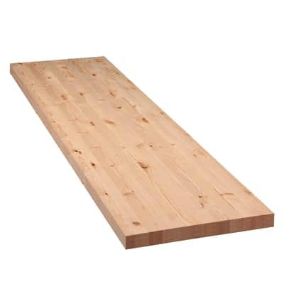 Tavola Compensato di legno abete L 200 x H 60 cm Sp 50 mm