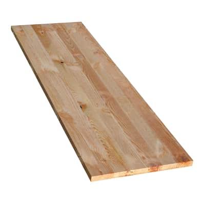 Tavola compensato di legno pino L 100 x H 30 cm Sp 18 mm