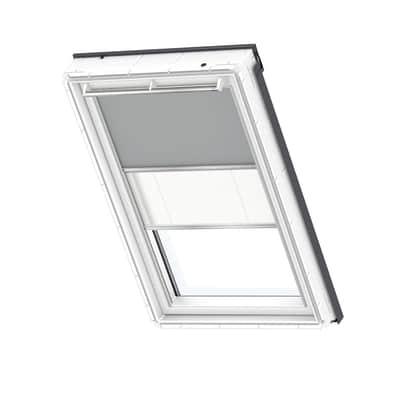 Persiana per finestra da tetto VELUX L 66 x H 118 cm grigio