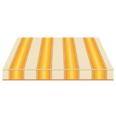 Tenda da sole a bracci estensibili manuale TEMPOTEST PARA' L 350 x H 210 cm giallo, avorio, marrone Cod. 771/12