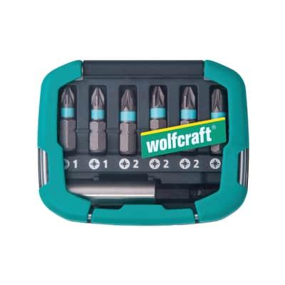 Set di punte per cacciavite WOLFCRAFT 6 pezzi