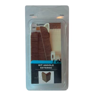 Angolare esterno in kit rovere zebrano 5 x 11 cm Sp 20 mm