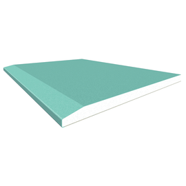 Lastra di cartongesso idrofuga 120 x 200 cm, spessore 13 mm