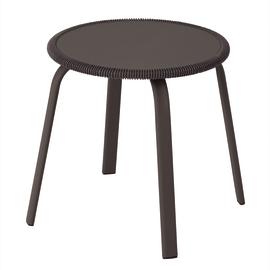 Tavolino Veracruz, Ø 40 cm antracite