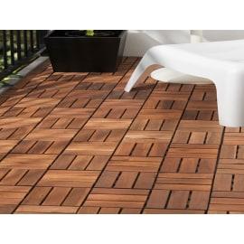 Pavimenti in legno legno composito e plastica per esterni for Piastrelle plastica giardino leroy merlin
