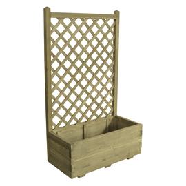 Fioriere in legno con grigliato o senza fioriere per orti for Grigliato leroy merlin