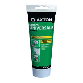 Stucco in pasta Axton Universale liscio bianco 330 g