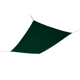 Vela ombreggiante rettangolare verde