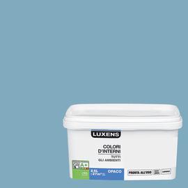 Idropittura lavabile Mano unica Blu Baltico 3 - 2,5 L Luxens