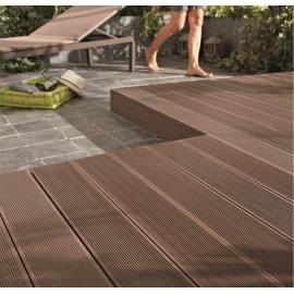 Pavimenti in legno legno composito e plastica per esterni prezzi e offerte online leroy merlin - Pavimenti per esterno offerte ...