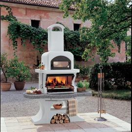 Barbecue in muratura prezzi e offerte online leroy merlin - Barbecue e forno da giardino ...