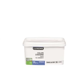 Idropittura lavabile Mano unica Bianco Bianco - 2,5 L Luxens