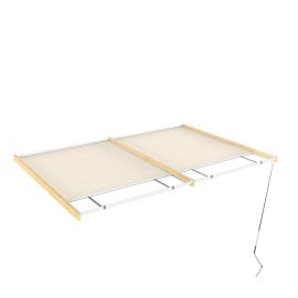 Tenda superiore scorrevole pergola Flamingo / Eagle 3 x 4.176 m