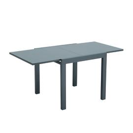 Tavolo allungabile Lisboa, 80 x 80 cm antracite