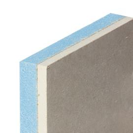Lastra di cartongesso accoppiata con isolante 120 x 200 cm, spessore 13 mm