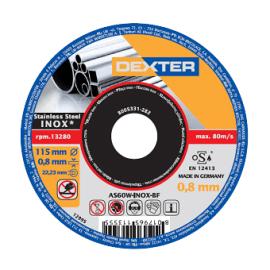 Disco abrasivo as 60 tinox Ø 115 mm