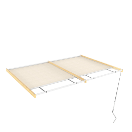 Tenda superiore scorrevole pergola Flamingo / Eagle 4.176 x 3 m