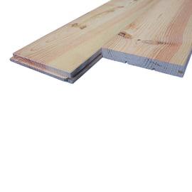 Listone pavimento prima scelta pino grezzo naturale 21 x 140 x 2000 mm