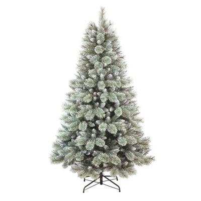 Albero di Natale artificiale Glitter Frost H 240 cm