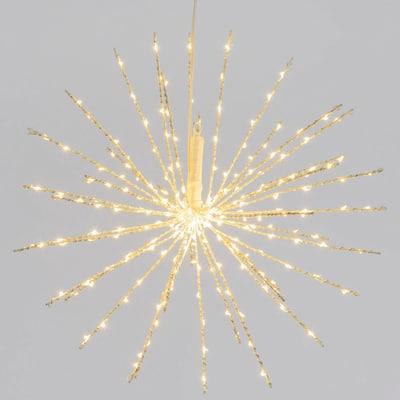 TWIGBall luminoso 240 minilucciole Led classica gialla L 40 cm