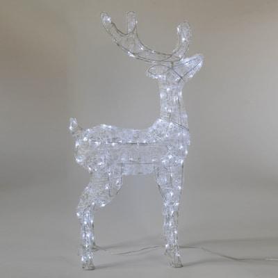 Renna luminosa Led bianca fredda H 98 cm
