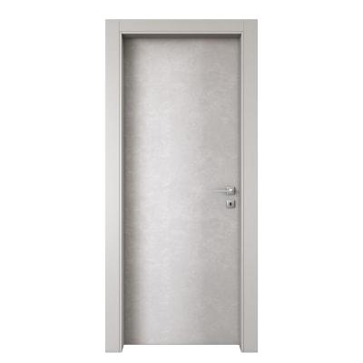 Porta da interno battente Hunk luna 70 x H 210 cm sx