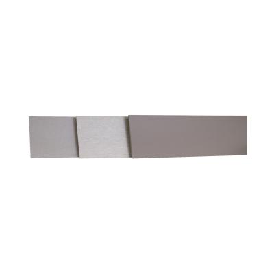 Alzatina su misura laminato marmo nero H 10 cm