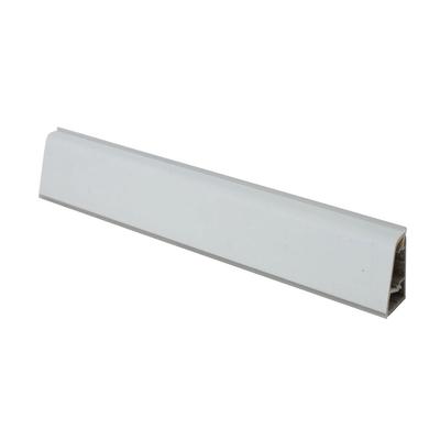 Alzatina su misura Luna alluminio bianco H 3 cm