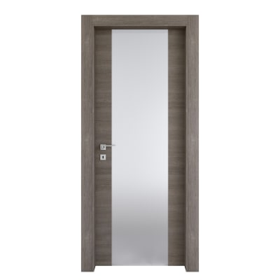 Porta da interno battente Starwood pietra 70 x H 210 cm dx