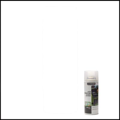 Smalto spray Luxens alte temperature trasparente opaco 400 ml