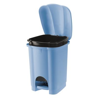 Pattumiera Carolina azzurro 6 L