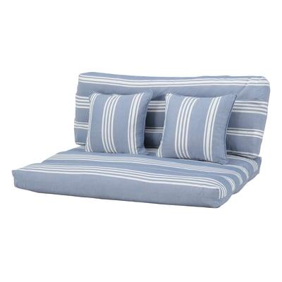 Cuscino azzurro 80 x 120 cm