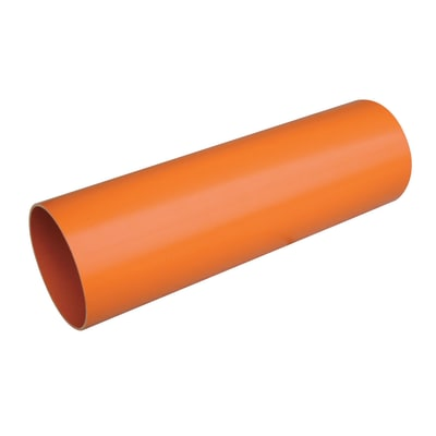 Tubo arancio ø 100 mm x 1 m