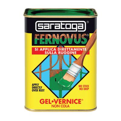 Smalto per ferro antiruggine Saratoga Fernovus grigio forgia metallizzato 0,75 L