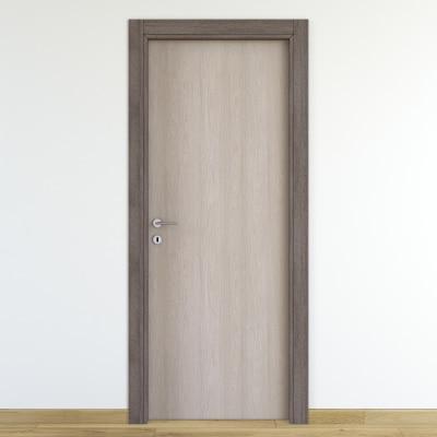 Porta da interno battente One frassino/brown 80 x H 210 cm reversibile