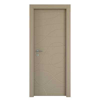 Porta da interno battente Wind taupe tortora 70 x H 210 cm dx